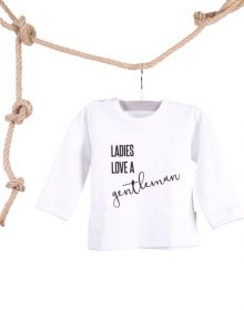 Baby T-shirt Boys are Ew Zwart0