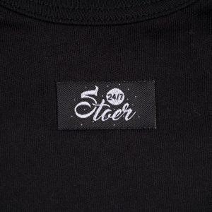 close up tshirt zwart