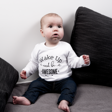 baby-tshirt-wake-up-and-be-awesome-wit