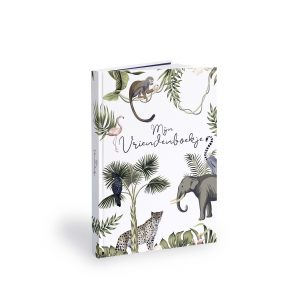 Vriendenboekje Cover Tropical